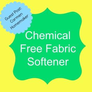guest post carmen chem free fab softener